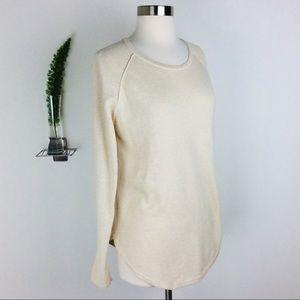 Jeanne Pierre Cute & Comfy Cream Sweater Size (M)